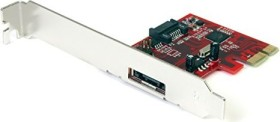 StarTech PEXSAT31E1, 1x eSATA/1x SATA 6Gb/s, PCIe x1