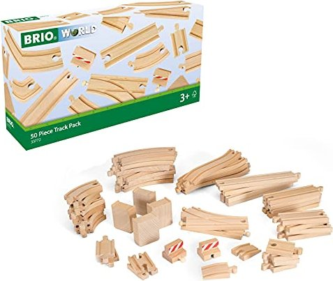BRIO XXL Großes Schienensortiment 50 Teile (33772) -- via Amazon Partnerprogramm
