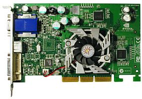 Sparkle SP7100M6, GeForce4 MX460, 64MB DDR, TV-out, AGP