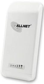 Allnet ALL_UbiBracket<br>Allnet Wireless N Zub. Wand/Masthalterung Ubi-Bracket<br>(Art# M9VYRPL), Wand-Masthalterung mit Schwenk/Neigefunktion für Outdoor-Accesspoint mit Rund-Aufnahme wie ALL0256N/ALL0258N/Ubiquiti Nanostation etc.Optionaler Accesspoint ALL0256N oder ALL0258N.