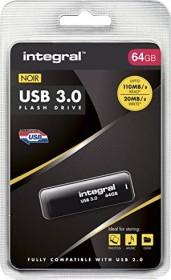 Integral Noir 64GB, USB-A 3.0 (INFD64GBNOIR3.0)