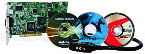 Matrox RT.X100 Xtreme incl Sonic ReelDVD Studio (without Adobe Premiere)