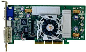 Sparkle SP7000T2, GeForce3 Ti200, 128MB DDR, DVI, TV-out, AGP