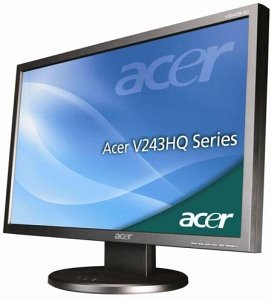 "Acer V3 Value V243HQAObd, 23.6"" (ET.UV3U.A15)"