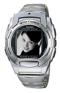 Casio Wrist Cam WQV-3D - godzina z aparatem