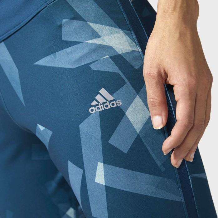 adidas Response Tights Laufhose 34 petrol nighttactile green (Damen) (BS2723) ab € 32,97