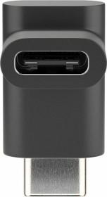 Wentronic Goobay USB-C 3.0 90° Adapter, schwarz (55556)