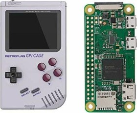 Raspberry Pi Zero W, GPi CASE Bundle, 32GB microSD