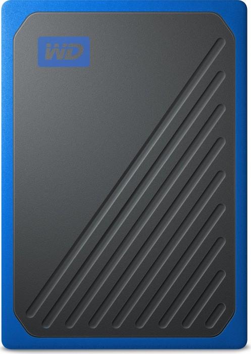 Western Digital WD My Passport Go blue 1TB, USB 3.0 micro-B (WDBMCG0010BBT-WESN)