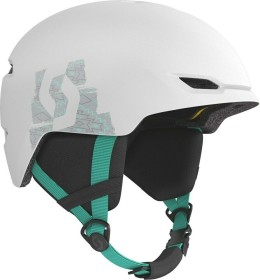 Scott Keeper 2 Plus Helm white/mint green (271761-4059)