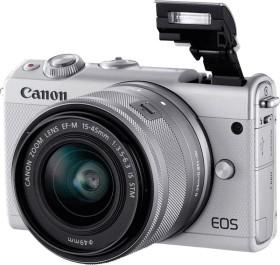 Canon EOS M100 grau mit Objektiv EF-M 15-45mm IS STM und 55-200mm IS STM (2211C022)