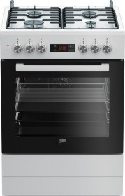 Beko FSM 62320 DWS electric cooker with gas hob