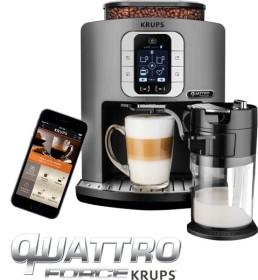 Krups EA860E<br>Krups EA 860 E Latte Smart coffee-fully automatic machine titanium/black<br>house & Home & Living > coffee, Tea & Co. > coffee-fully automatic machines Offer from Euronics XXL Radio City