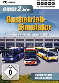 OMSI 2 - Der Omnibussimulator 2 - Busbetrieb-Simulator (Add-on) (PC)