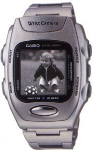 Casio Wrist Cam WQV-2DS - clock with digital camera