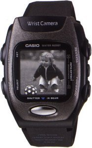 Casio Wrist Cam WQV-2S - clock with digital camera