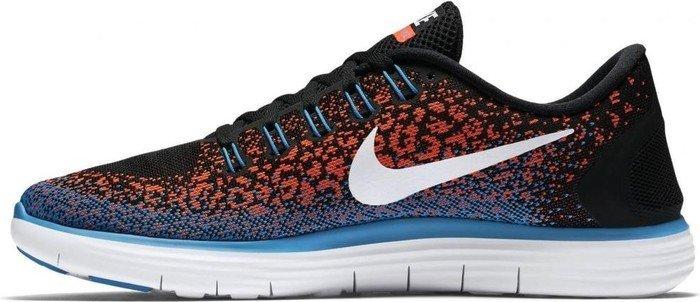 hot sale online 41d89 a6860 Nike Free RN Distance schwarzhyper orangeblaue laguneweiß (Herren)