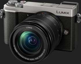 Panasonic Lumix DC-GX9 silber mit Objektiv Lumix G Vario 12-60mm 3.5-5.6 ASPH Power OIS (DMC-GX9M)