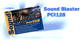 Creative Sound Blaster PCI128, bulk/OEM