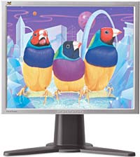 "ViewSonic VP201s silber, 20.1"", 1600x1200, analog/digital"