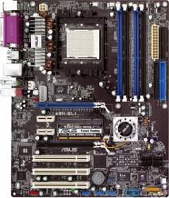 ASUS A8N-SLI, nForce4 SLI (dual PC-3200 DDR) (90-M9L0P0-G0EAY)