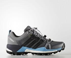 adidas Terrex Skychaser GTX grey two/core black/vapour blue (Damen) (S80881)