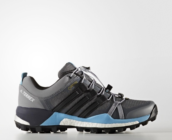 89a80b0ba0f9 adidas Terrex Skychaser GTX grey two core black vapour blue (ladies ...