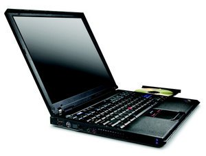 "Lenovo Thinkpad T41, Pentium-M 1.60GHz, 512MB RAM, 40GB, DVD/CD-RW, 14.1"" (TC17FGE)"