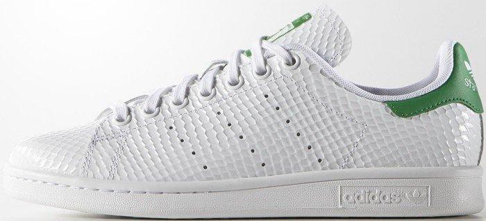 adidas Stan Smith weiß/grün (Damen) (B35443) | heise online ...