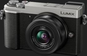 Panasonic Lumix DC-GX9 silber mit Objektiv Lumix G Vario 12-32mm 3.5-5.6 ASPH OIS (DMC-GX9K)