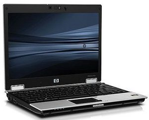 HP EliteBook 2530p, Core 2 Duo SL9400, 2GB RAM, 120GB HDD, DVD+/-RW (VQ750ET)