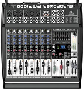 Behringer Europower PMP1000 -- © Copyright 200x, Behringer International GmbH