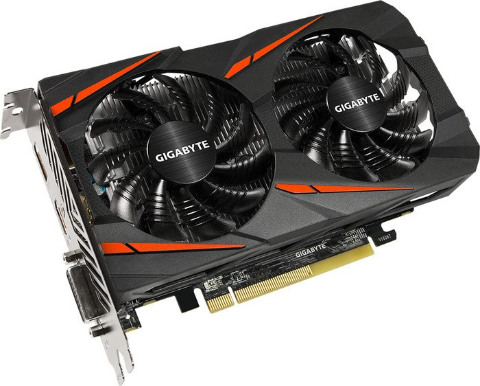 Gigabyte Radeon RX 460 Windforce OC 4G, 4GB GDDR5, DVI, HDMI, DisplayPort (GV-RX460WF2OC-4GD)