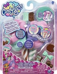 Spin Master Candylocks Beste Freundinnen Mint Choco Chick und Choco Lisa (6054716)