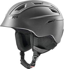 UVEX Fierce Helm black mat