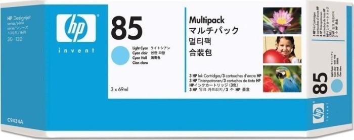 HP 85 Tinte cyan hell, 3er-Pack (C9434A)