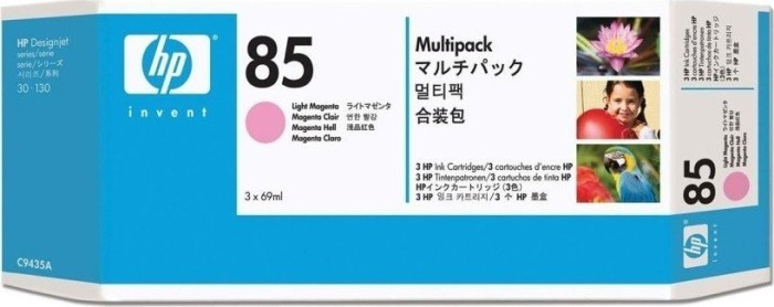 HP Tinte 85 magenta hell, 3er-Pack (C9435A)