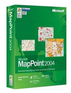 Microsoft: MapPoint 2004 aktualizacja (angielski) (PC) (B21-00406)