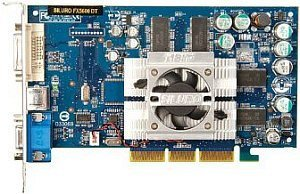 ABIT Siluro FX5600 DT, GeForceFX 5600, 128MB DDR, DVI, TV-out, AGP