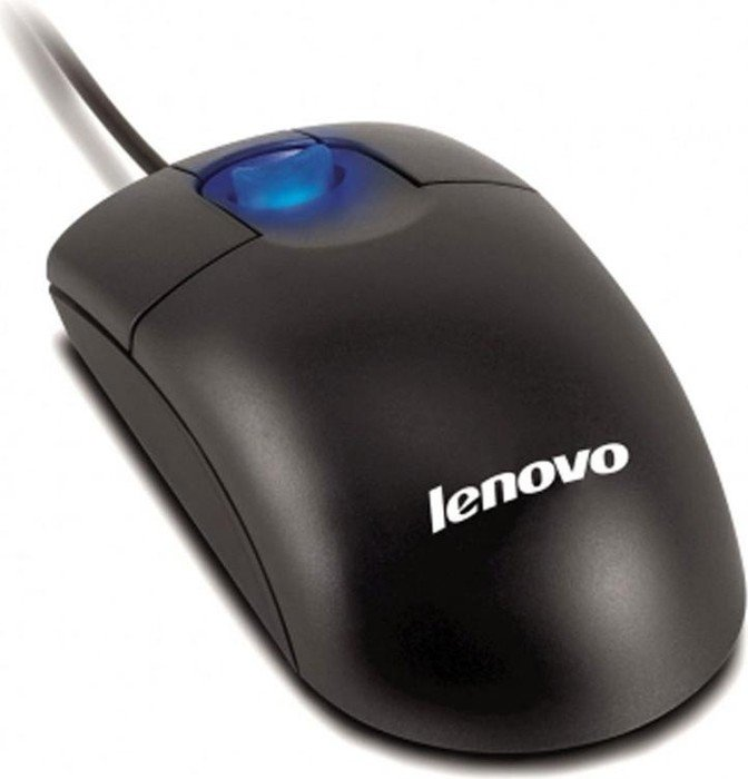 Lenovo Optical 3-Button Scrollpoint Mouse, PS/2 & USB (31P7405)