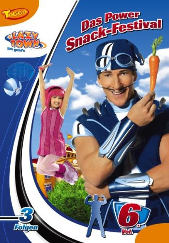 LazyTown Vol. 6: Das Power Snack-Festival -- via Amazon Partnerprogramm