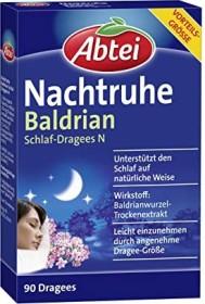 Abtei Nachtruhe Schlaf-Dragees N, 90 Stück