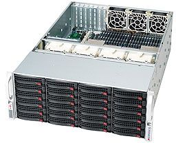 Supermicro 848A-R1800B black, 4U, 1800W redundant