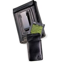 Palm 10123U Leather Belt Clip Case (alle Palm III außer IIIc, Palmpilot, Pilot)