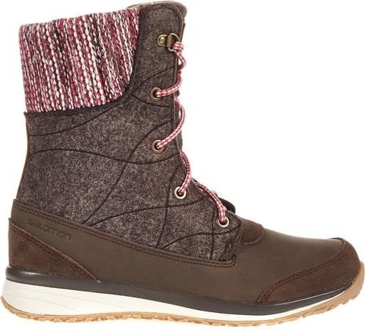 Salomon Hime mid absolute brown/light grey (ladies) (378421) -- ©Globetrotter