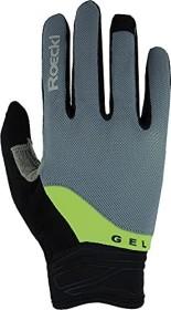 Roeckl Mori cycling gloves grey/green