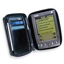 Palm 10141U Zipped Leather Carrying Case (alle Palm III außer IIIc, Palmpilot, Pilot)