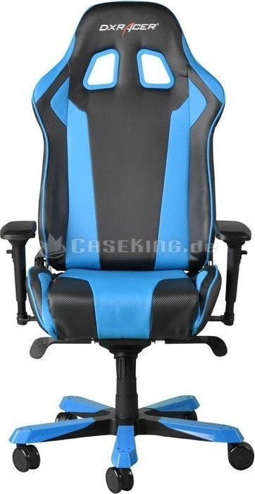 Dxracer King Series Gamingstuhl Schwarz Blau Oh Ks06 Nb Ab 398 02