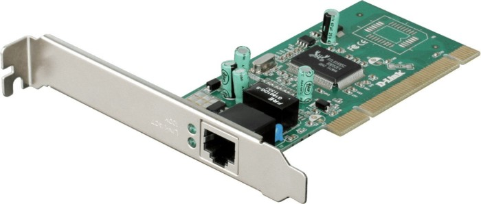 D-Link DGE-528T, 1x 1000Base-T, PCI 66MHz