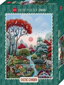Heye Puzzle Exotic Garden Wildlife Paradise (29958)